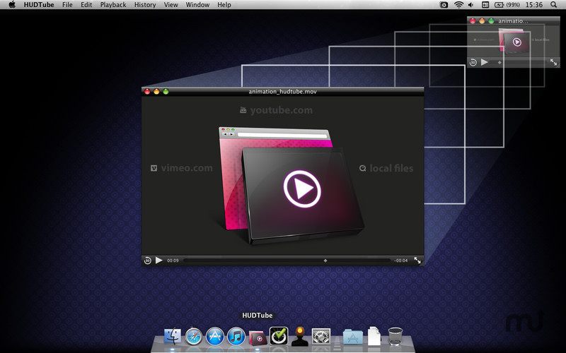 Screenshot 1 for HUDTube Video Player
