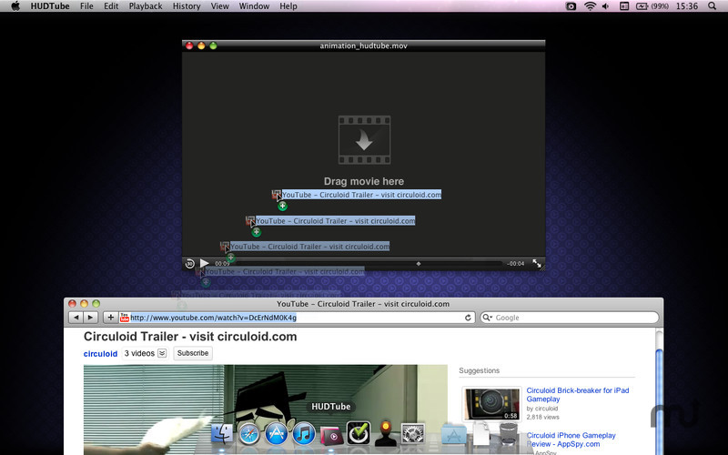 Screenshot 2 for HUDTube Video Player