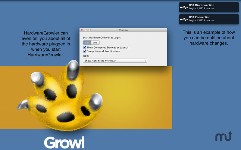 Screenshot 1 for HardwareGrowler