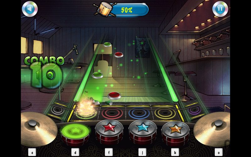 Screenshot 1 for iSTAR Drummer