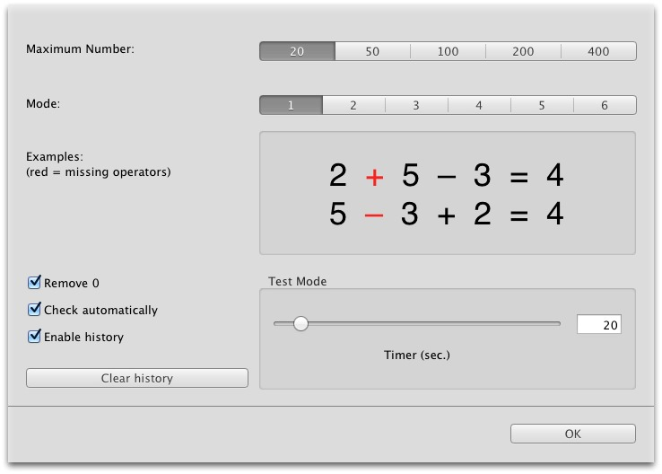 Screenshot 4 for Simple Arithmetics