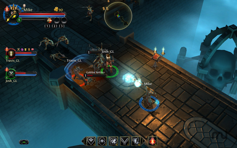 Screenshot 1 for Dungeon Hunter: Alliance