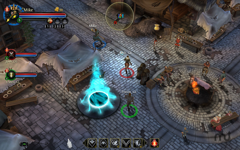 Screenshot 2 for Dungeon Hunter: Alliance
