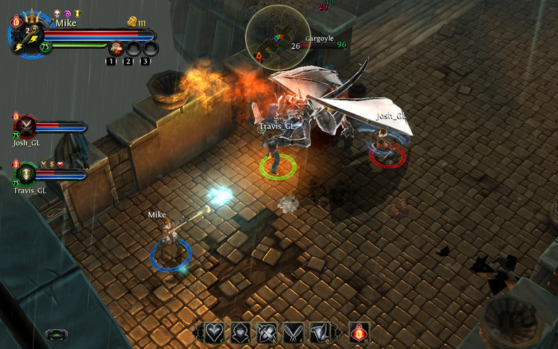 Screenshot 3 for Dungeon Hunter: Alliance