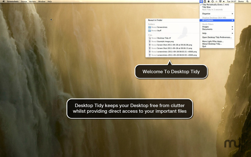Screenshot 1 for Desktop Tidy