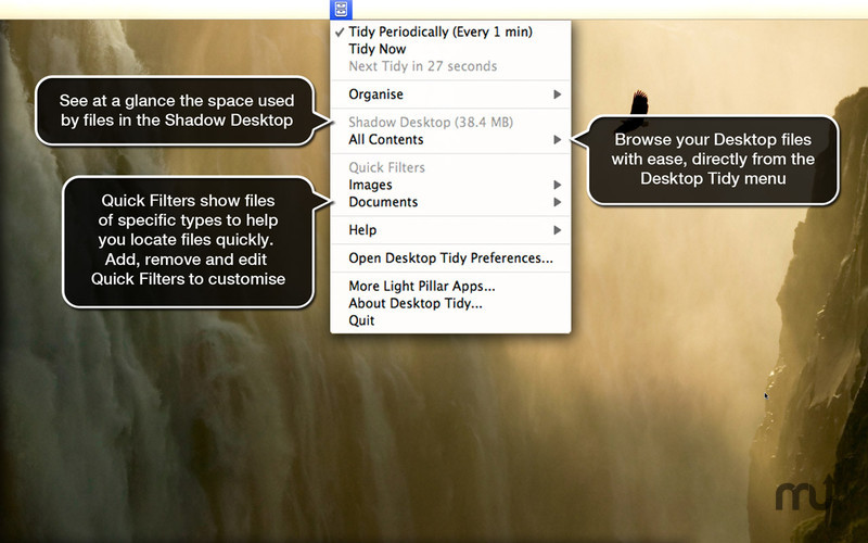 Screenshot 2 for Desktop Tidy