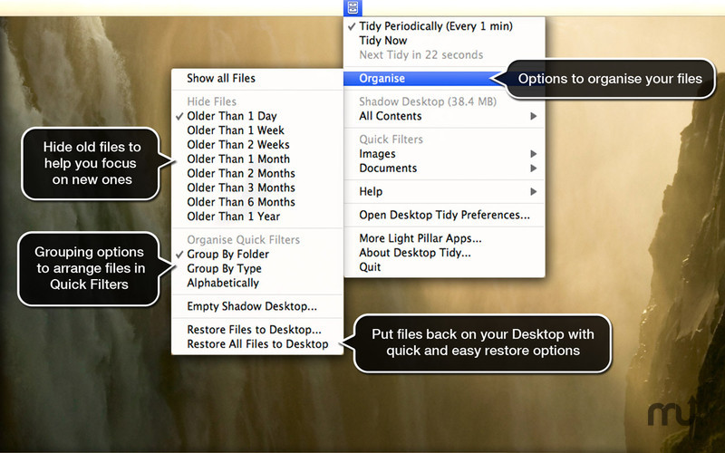 Screenshot 4 for Desktop Tidy