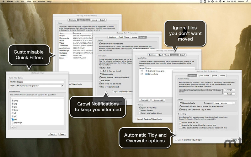 Screenshot 5 for Desktop Tidy