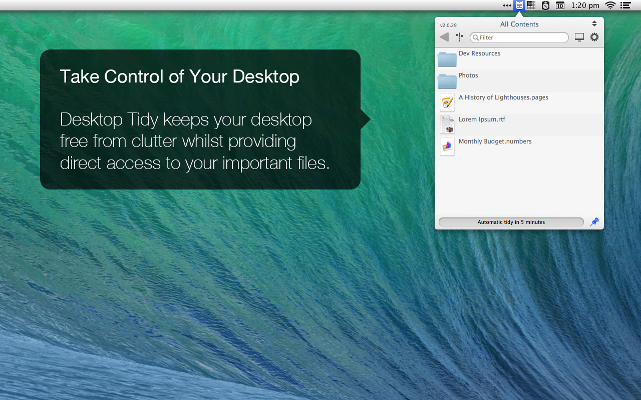 Screenshot 6 for Desktop Tidy