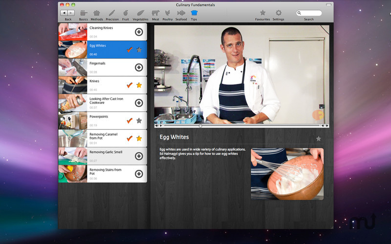 Screenshot 2 for Culinary Fundamentals