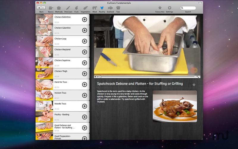 Screenshot 5 for Culinary Fundamentals