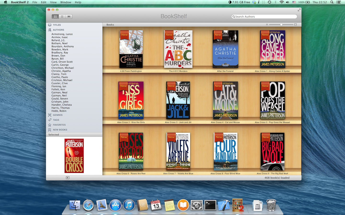 Screenshot 1 for BookShelf 2