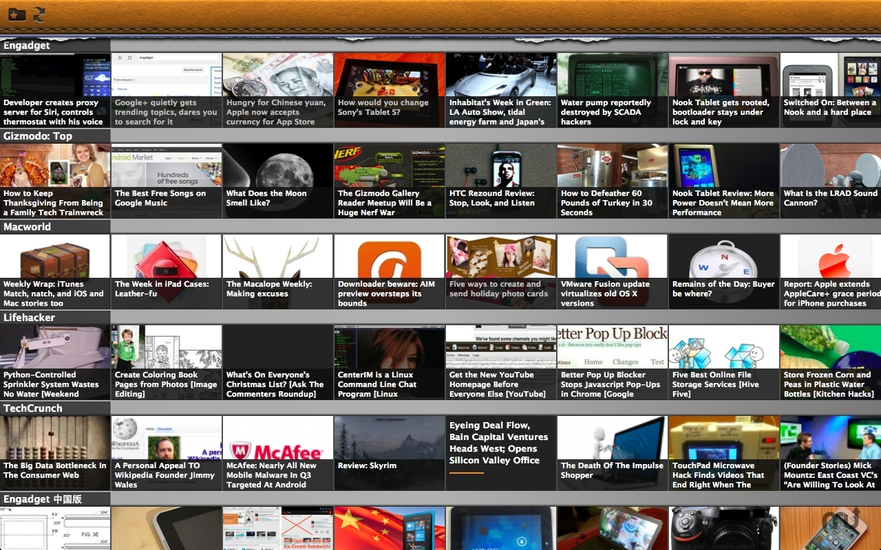 Screenshot 1 for Glance news