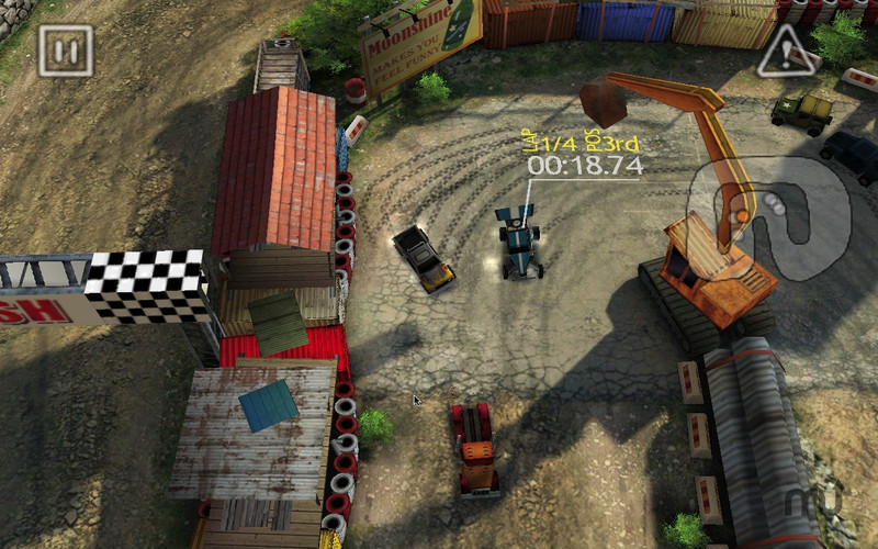 Screenshot 1 for Reckless Racing