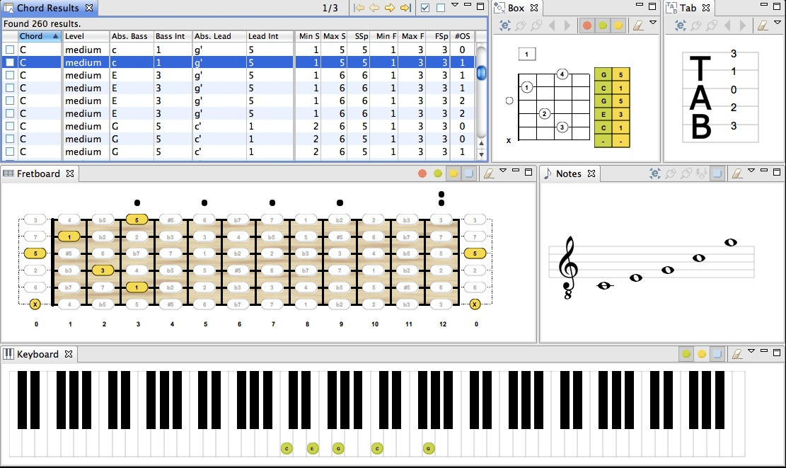 Screenshot 2 for Chord Scale Generator