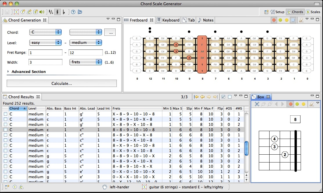 Screenshot 5 for Chord Scale Generator