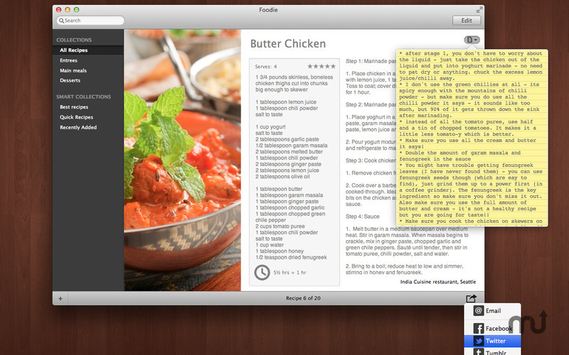 Screenshot 4 for Foodie