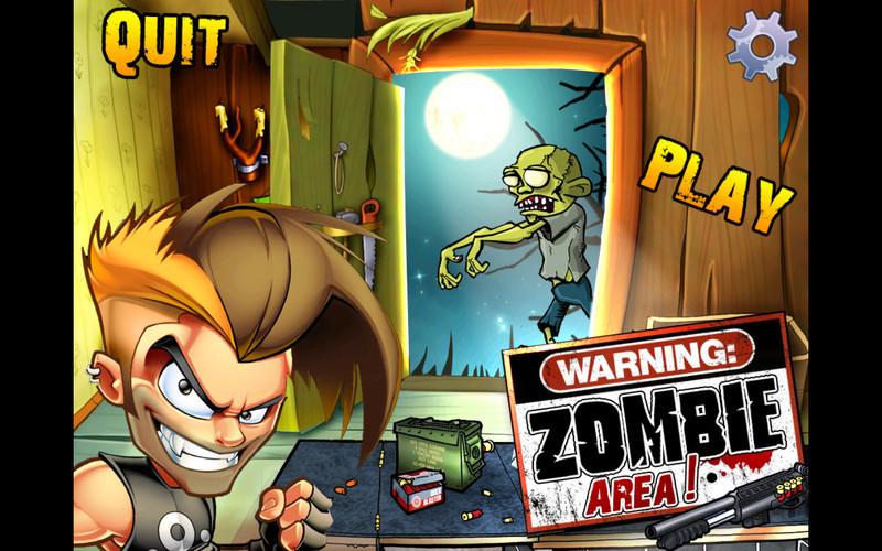 Screenshot 1 for Zombie Area!