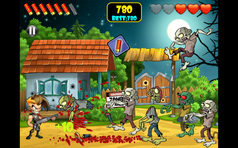 Screenshot 2 for Zombie Area!
