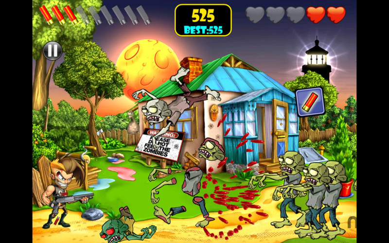 Screenshot 5 for Zombie Area!
