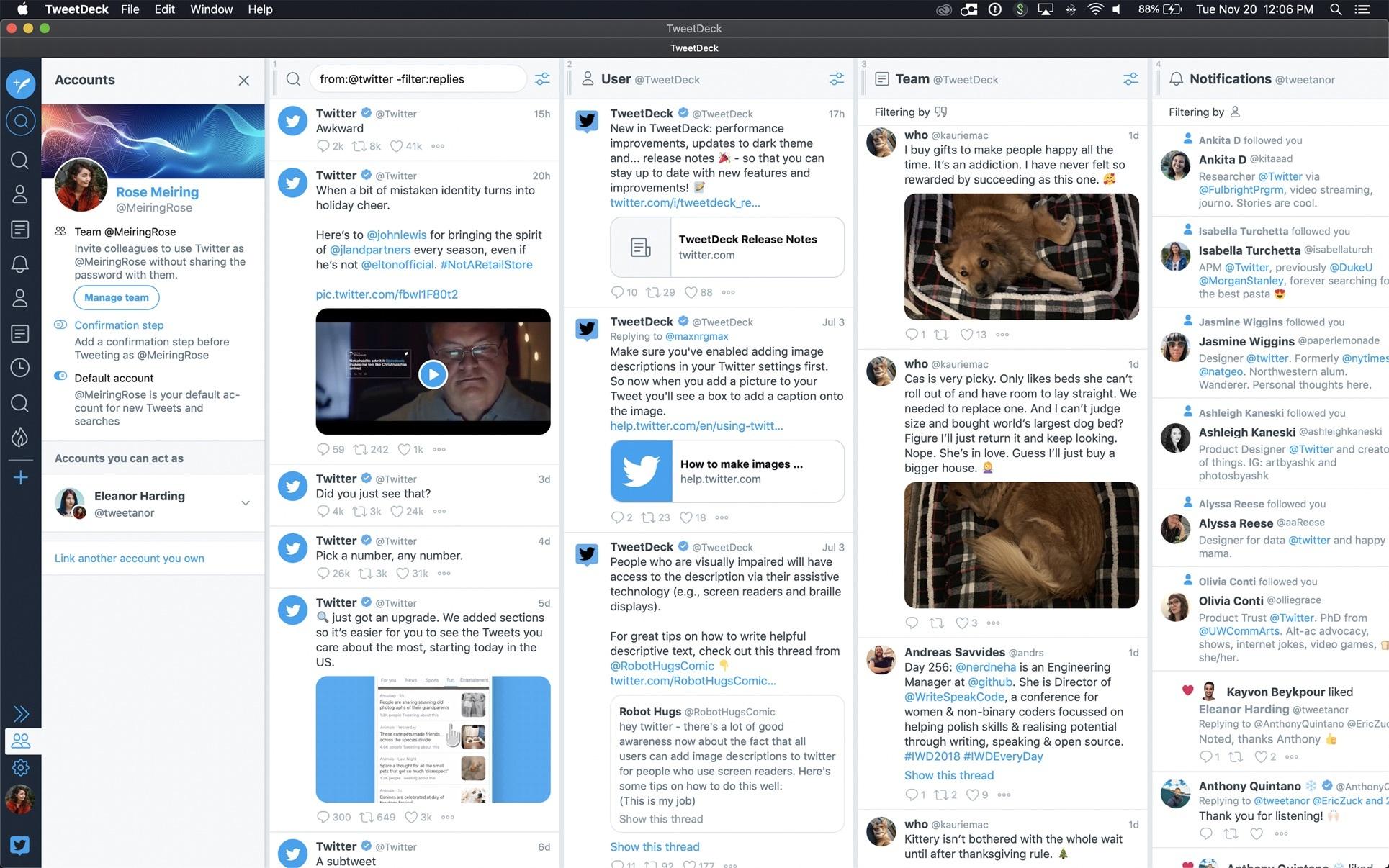 Tweeten Vs Tweetdeck