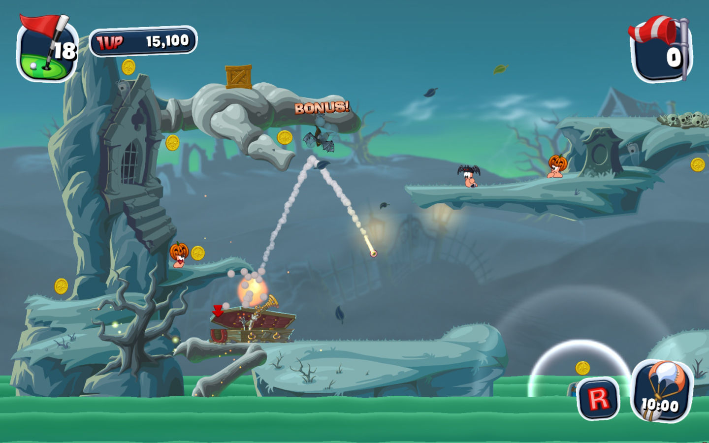 Screenshot 5 for Worms Crazy Golf