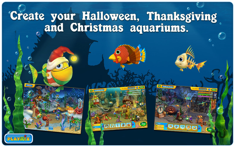Screenshot 2 for Fishdom: Seasons under the Sea