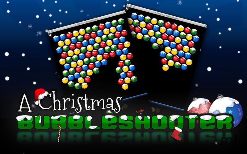 Screenshot 1 for A Christmas Bubbleshooter