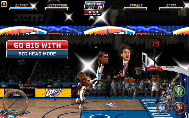 Screenshot 2 for NBA JAM by EA SPORTS