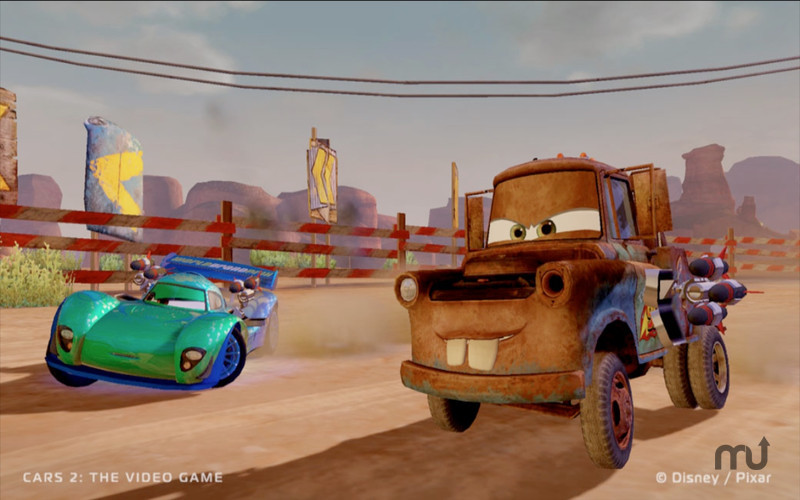 Screenshot 3 for Cars 2: The Video Game