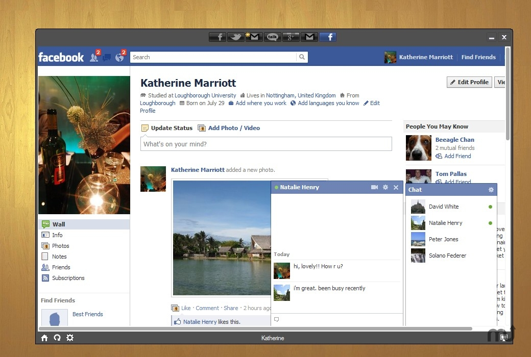 Screenshot 1 for Social for Facebook