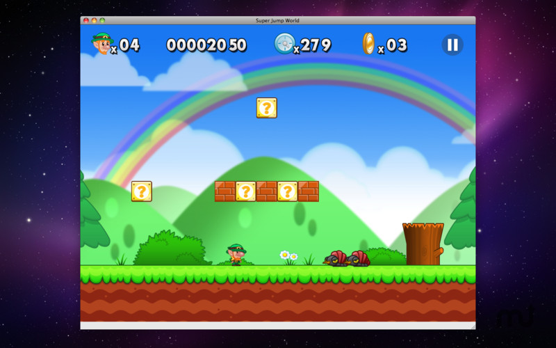 Screenshot 1 for Super Jump World