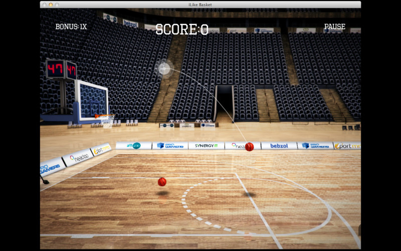 Screenshot 3 for iLike Basket
