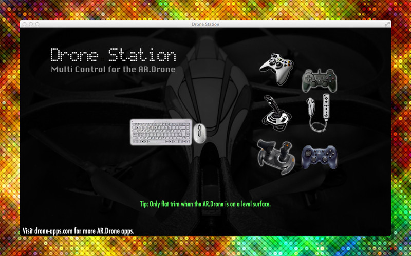 Screenshot 1 for Drone Station
