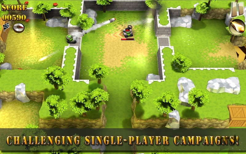 Screenshot 2 for Tank Riders