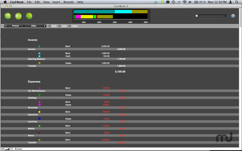 Screenshot 2 for CashBook