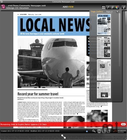 Screenshot 1 for ADOView for InDesign