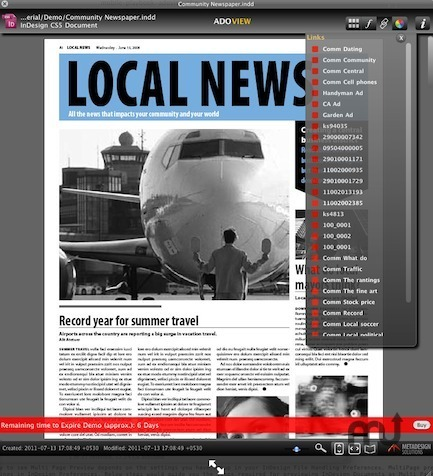 Screenshot 3 for ADOView for InDesign