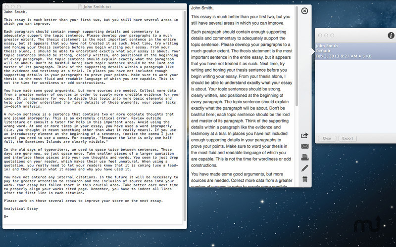 Screenshot 2 for Essay Grader