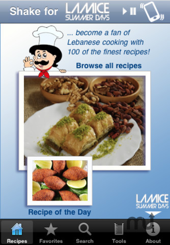 Screenshot 1 for 100 Lebanese Recipes