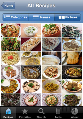 Screenshot 3 for 100 Lebanese Recipes
