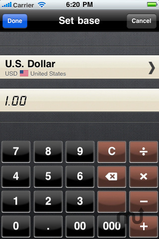 Screenshot 5 for Currency Converter HD