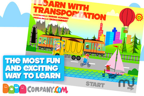 Screenshot 1 for I Learn with Transportation