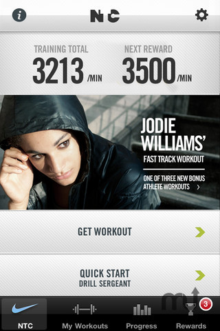 Screenshot 1 for Nike Training Club