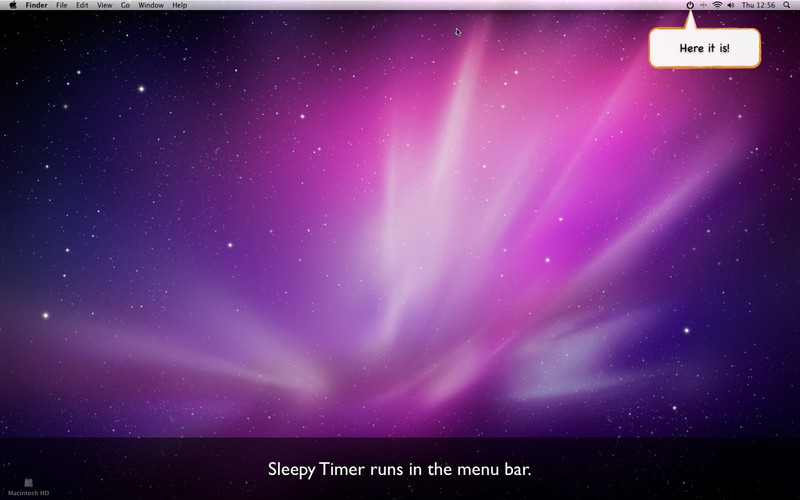 Screenshot 1 for SleepyTimer