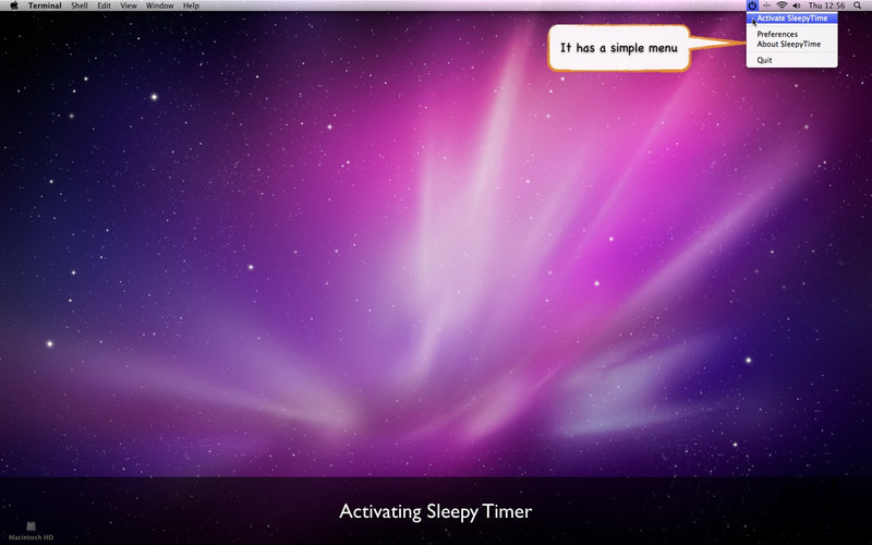 Screenshot 2 for SleepyTimer