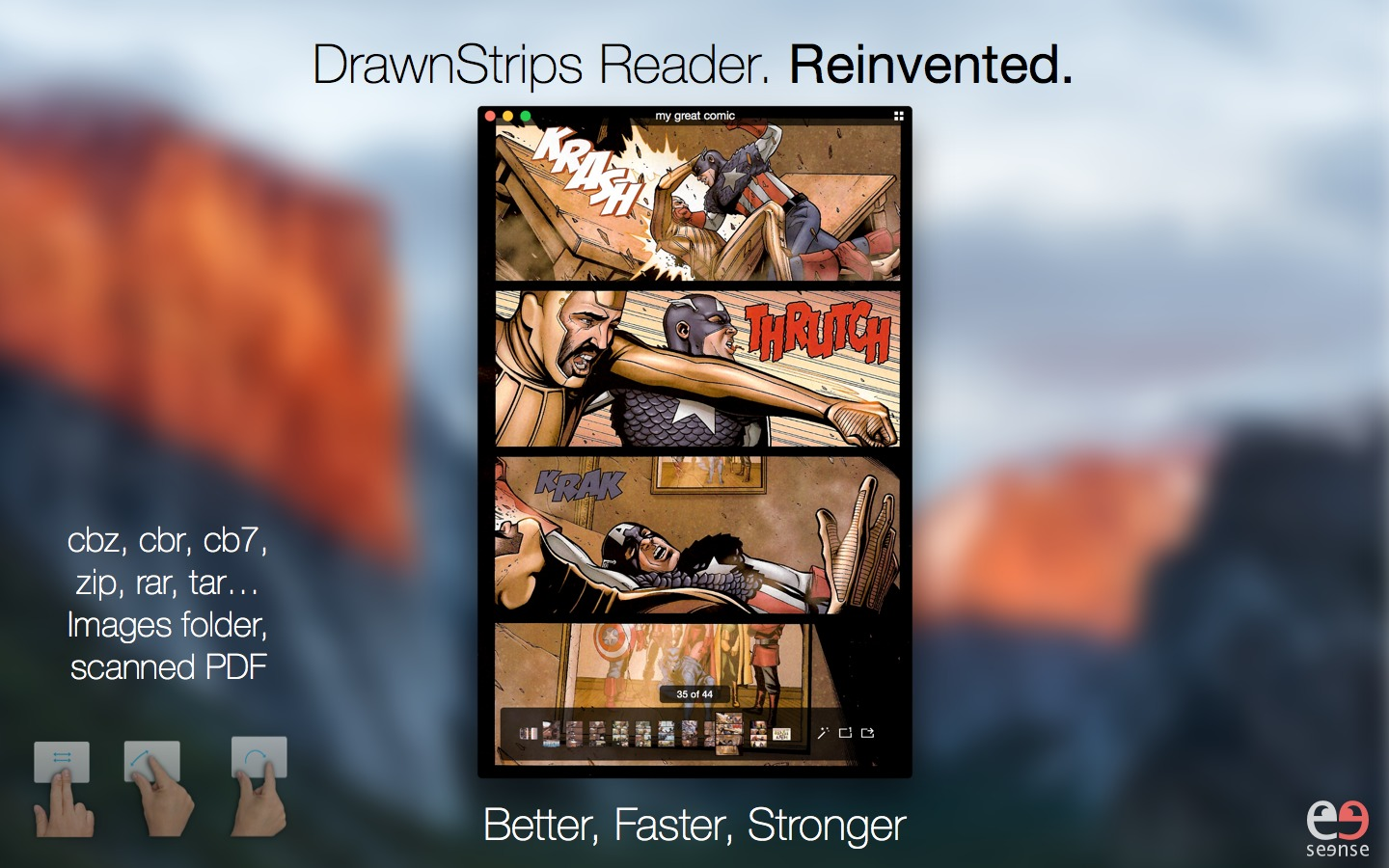 Screenshot 1 for DrawnStrips Reader