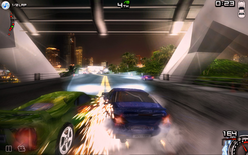 Screenshot 2 for Race illegal High Speed 3D