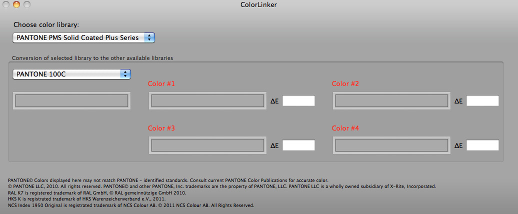 Screenshot 1 for ColorLinker