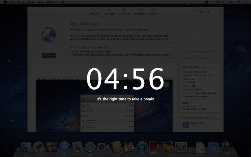 Screenshot 2 for Smart Timer